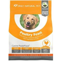 Only Natural Pet Canine PowerFood Dry Dog Food *** Want to know more, click on the image. (This is an affiliate link and I receive a commission for the sales) #Pets