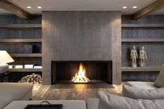 562 Best Linear Fireplaces Linear Contemporary Images In 2019