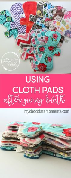 cloth pads for post