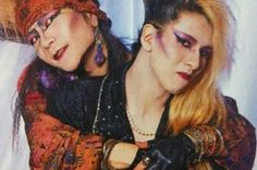Hide and Yoshiki brotherly love