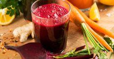 Recette de Jus de betterave, gingembre et carotte. Facile et rapide à réaliser, goûteuse et diététique. Ingrédients, préparation et recettes associées.