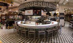İstanbul-TURKEY-Nişantaşı city's Mahalle-mano burger