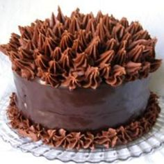 Elizabeth's Extreme Chocolate Lover's Cake