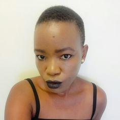 Bold, black lips with Usiku. Black Lips, Face, Beauty, Beauty Illustration, Faces, Facial