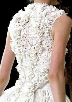 Очарование ирландского кружева - Irish crochet lace on a catwalk