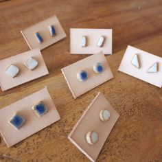Jujumade ceramic earrings