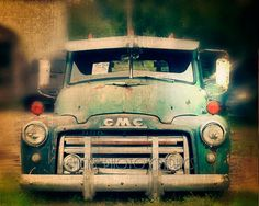 Old Truck Photo Print GMC Pickup