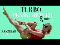 Turbo płaski BRZUCH   8 minut   Ola Żelazo - YouTube Pilates, Fitness Inspiration, Health Fitness, Abs, Exercise, Workout, Sports, Beauty, Exercises