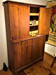 Antique Decor, Vintage Decor, Bucks County, Cupboards, Primitives, Armoire, Tall Cabinet Storage, Decorating, Stone