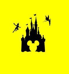 Disney Mickey Castle SVG Cutting Files by Vinyldecalsworld on Etsy