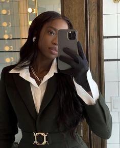 Black Girl Magic, Black Girls, Black Women, Mode Outfits, Fashion Outfits, Mode Ootd, Black Girl Aesthetic, Black Girl Fashion, Rich Girl