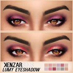 Sims 4 CC's - The Best: Eyeshadow by Kenzar Sims