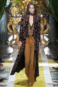 Roberto Cavalli - MFW Fall/Winter 2016-2017 - so-sophisticated.com