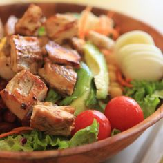 Chef Salad - Wall Street Cafe - Zmenu, The Most Comprehensive Menu With Photos