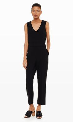 Liat V-Neck Jumpsuit - Club Monaco Jumpers - Club Monaco