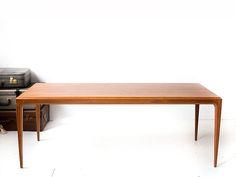 Vintage Johannes Andersen coffee table teak | Vintage Furniture Base