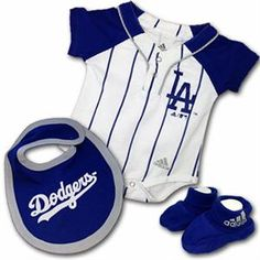 Shop for LA Dodgers baby clothes and infant apparel. We offer a wide selection of Los Angeles Dodgers onesies, baby outfits, hats and accessories. Outfit your little Dodgers fan with the baby gear they need. Cute Baby Boy, Cute Baby Clothes, Baby & Toddler Clothing, Baby Love, Cute Babies, Baby Kids, Babies Clothes, Dodgers Outfit, Dodgers Gear