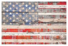 American Dream II (Reclaimed Wood)