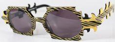Flamboyant Frames From Faniel Eyewear in Yellow and Black