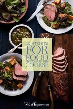 Using Adobe Lightroom learn how to turn those RAW blah food photography images into stunning professional photos that will make your clients and audience drool.