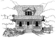 Eplans Country House Plan - Three Bedrooms, No Fuss - 1213 Square Feet and 3 Bedrooms(s) from Eplans - House Plan Code HWEPL15000