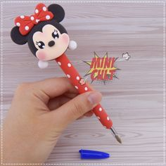 1 million+ Stunning Free Images to Use Anywhere Polymer Clay Figures, Cute Polymer Clay, Polymer Clay Projects, Foam Crafts, Diy And Crafts, Crafts For Kids, Fiesta Mickey Mouse, Clay Pen, Salt Dough Crafts