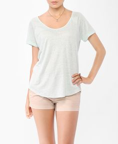 Essential Linen Tee | FOREVER21