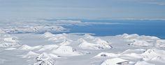 Svalbard vue avion - blog Bar a Voyages #Svalbard #spitzberg #norvege #ice #banquise #arctique #arctic #paysage #landscape #norway