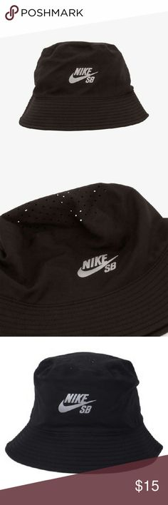 d1ee33dfaaa50 Nwt Nike bucket hat These are new with tags black Nike bucket hats in size  adult
