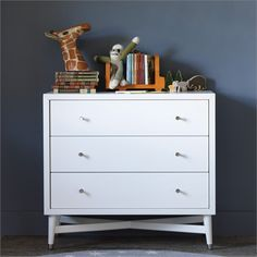 @Rosenberry Rooms is offering $20 OFF your purchase! Share the news and save! Mid-Century Dresser in French White #rosenberryrooms