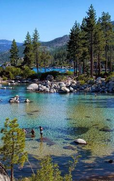Sand Harbor – Lake Tahoe, Nevada More Travel Honeymoon Backpack Backpacking Vacation Sand Harbor Lake Tahoe, Lake Tahoe Nevada, Sand Lake, Dream Vacations, Vacation Spots, Vacation Ideas, Lago Tahoe, Places To Travel, Places To See