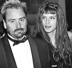Luc Besson et Maïwenn Le Besco