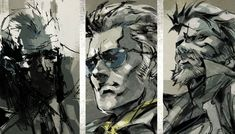 Character Faces, Metal Gear Solid: Peace Walker