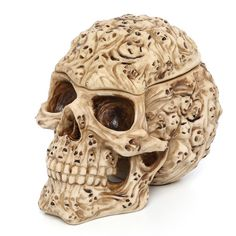 Found it at Wayfair - Skull's Soul Spirit Sculptural Box in Aged Bone