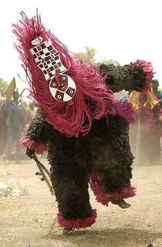 Africa | Masquerader. Pouni, Burkina Faso | ©Sergio Pessolano