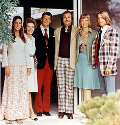 The Reagans with their children in 1976. - Reagan Family Photo Collection, via Agence France-Press