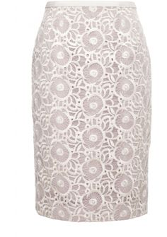 Coleta Skirt Lace Pencil Skirt