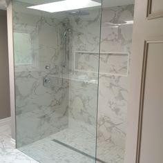 Custom Shower Enclosure Caledon Tile Renovation