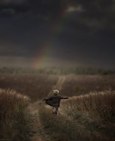 following the rainbow. Elena Shumilova. 500px. #dreamy #childhood #photography