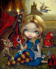 Alice and the Bosch Monsters Hieronymus Wonderland by Jasmine Becket-Griffith