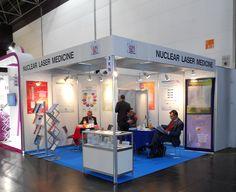 MEDICA - Messe Düsseldorf. NUCLEAR LASER. Ricerca, analisi, promozione e comunicazione. Progettazione e realizzazione dell'allestimento dello stand. Photo by honegger