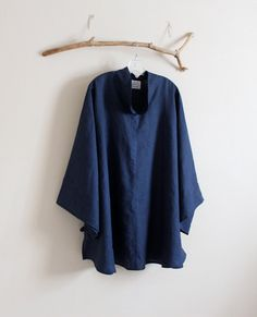 plus size custom linen asian blouse  by annyschooecoclothing, $130.00