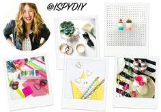 A Few Favourite DIY Instagrammers | @ISPYDIY | EmmaLouisa.com