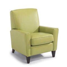 Digby Upholstered High Leg Recliner Chair by Flexsteel at Belfort Furniture