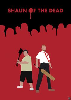 Blood and Ice Cream: Shaun of the Dead by ~HerrOwley on deviantART #shaunofthedead
