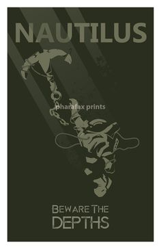 Nautilus League of Legends Print by pharafax on Etsy, $16.00
