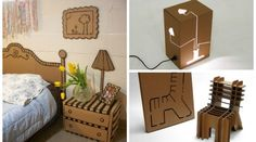 + images about Cardboard Furniture & Crafts on Pinterest | Cardboard ...