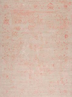 Amour Reserve Wool & Silk - Thrill - Samad - Hand Made Carpets Rugs On Carpet, Carpets, Pink Rugs, Transitional Rugs, Old World Charm, Home Rugs, Hand Spinning, Colorful Rugs, Handmade Rugs