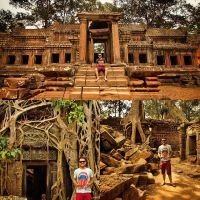 Não imaginei que o Camboja me conquistaria de maneira tão intensa... Além da beleza dos templos e toda a história por trás deles, o povo é simples e sempre está com um sorriso no rosto... As crianças são encantadoras e dá vontade de abraçar cada uma que acena quando você passa.. Hoje deixo Siem Reap e vou para outra parte do país: Koh Rong, uma ilha com praias paradisíacas.. Já começo a sonhar com o que está por vir... #UmViajanteAsia2015 #camboja #siemreap #angkor #angkorwat #SouUmViajante