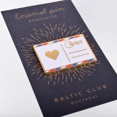Love letter Enamel Pin Love note Lapel Pin by BalticClub on Etsy